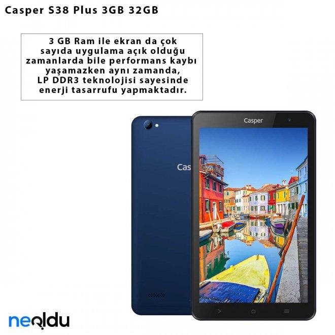 Casper S38 Plus 3GB 32GB
