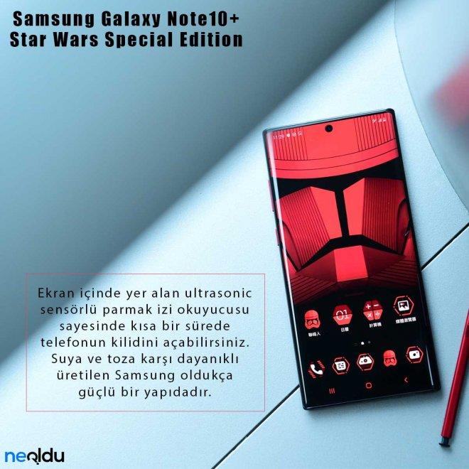 Samsung Galaxy Note10+ Star Wars parmak izi