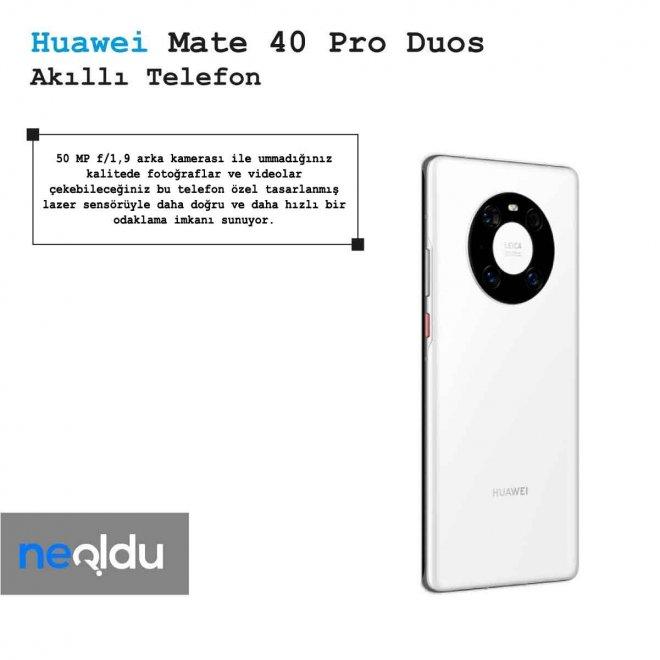 Huawei Mate 40 Pro Duos Kamera