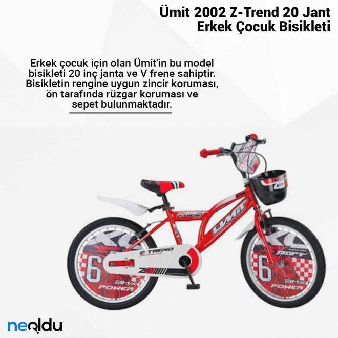 Ümit 2002 Z-Trend 20 Jant Erkek Çocuk Bisikleti