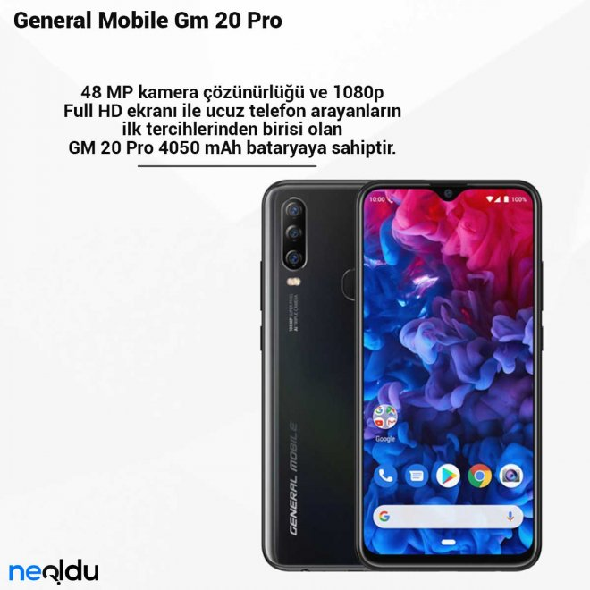 General Mobile Gm 20 Pro