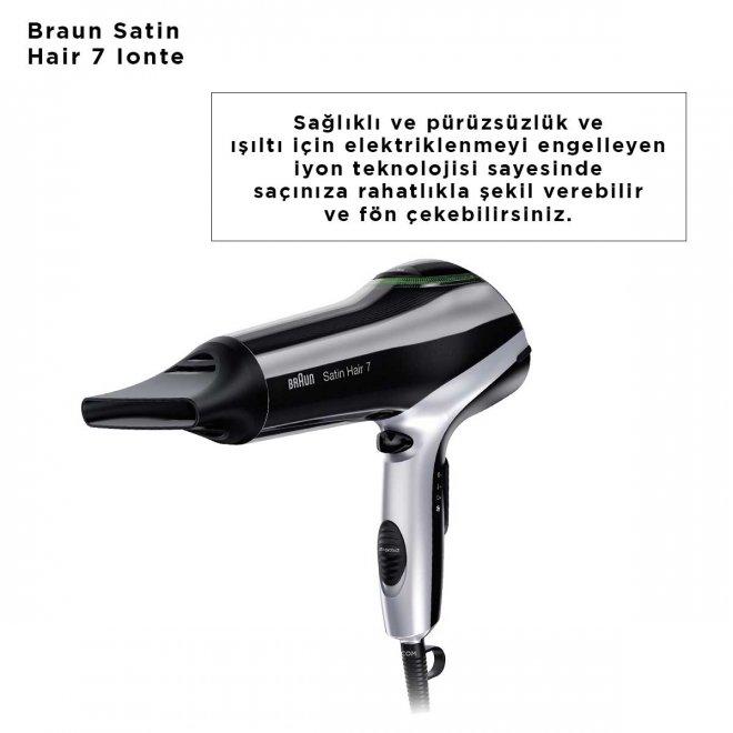 Braun Satin Hair 7 Ionte HD710