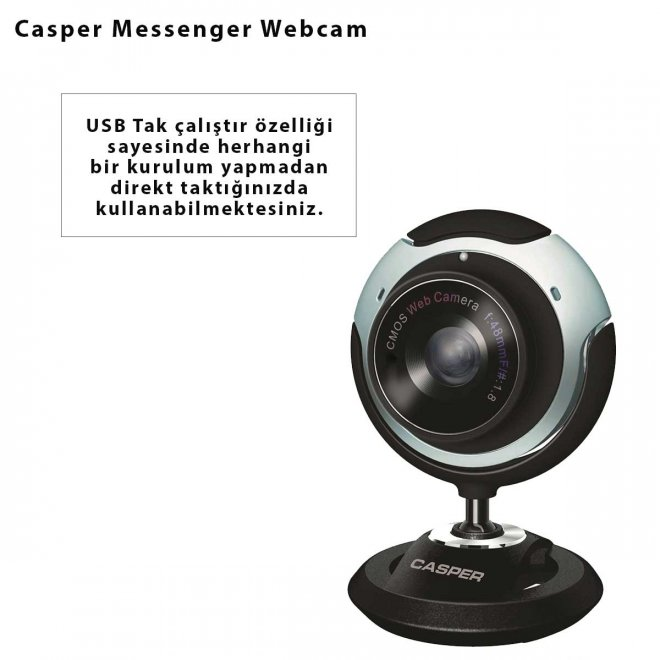 Casper Messenger Webcam