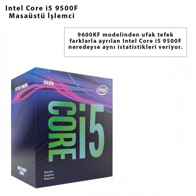 Intel Core i5 9500F Masaüstü İşlemci