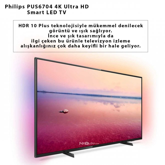 Philips PUS6704 4K Ultra HD Smart LED TV