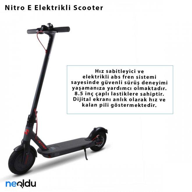Nitro E Elektrikli Scooter