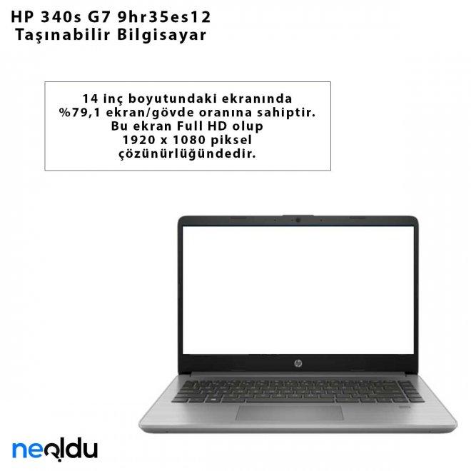 HP 340s G7 9hr35es12 Taşınabilir Bilgisayar