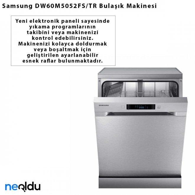 Samsung DW60M5052FS/TR Bulaşık Makinesi