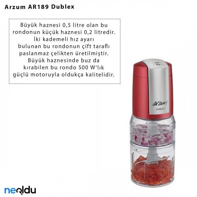 Arzum AR189 Dublex