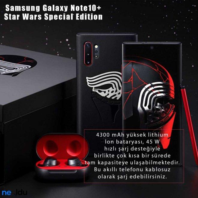 Samsung Galaxy Note10+ Star Wars pil gücü