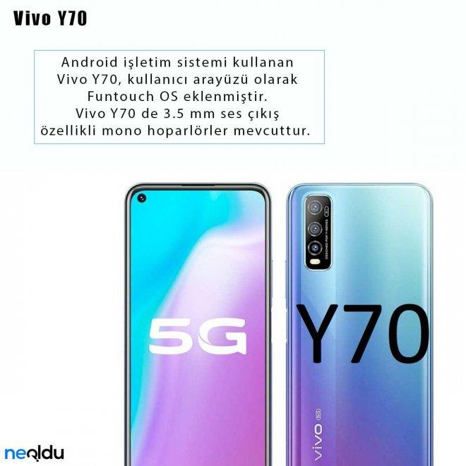 Vivo Y70 işletim sistemi