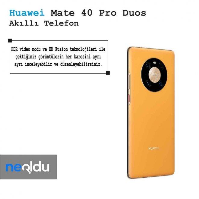 Huawei Mate 40 Pro Duos Ekran Kalitesi