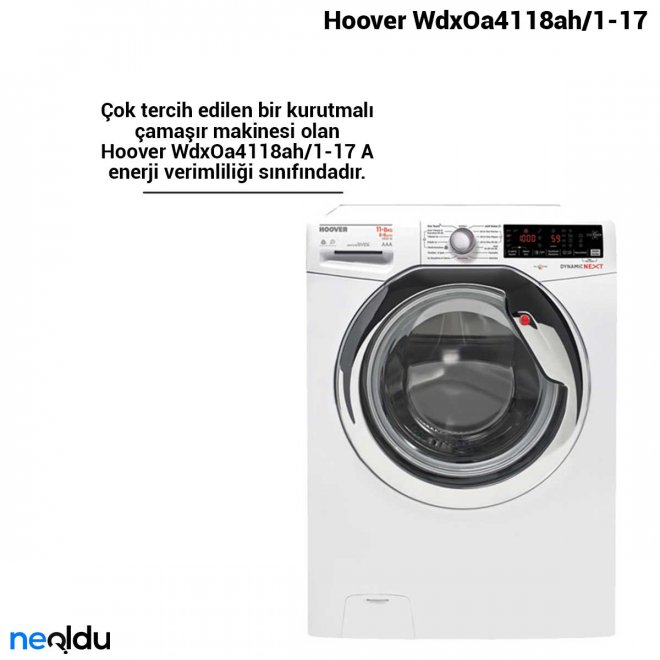 Hoover WdxOa4118ah/1-17