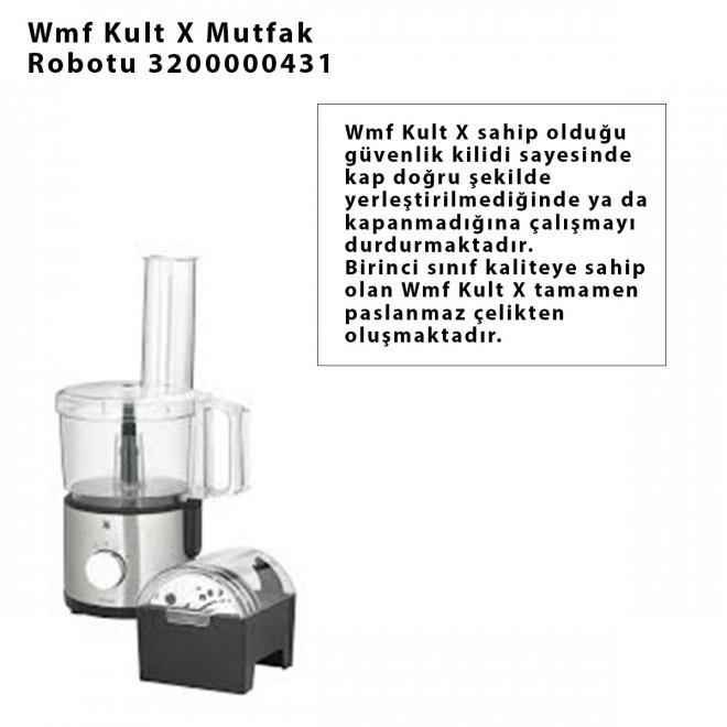 Wmf Kult X Mutfak Robotu 3200000431