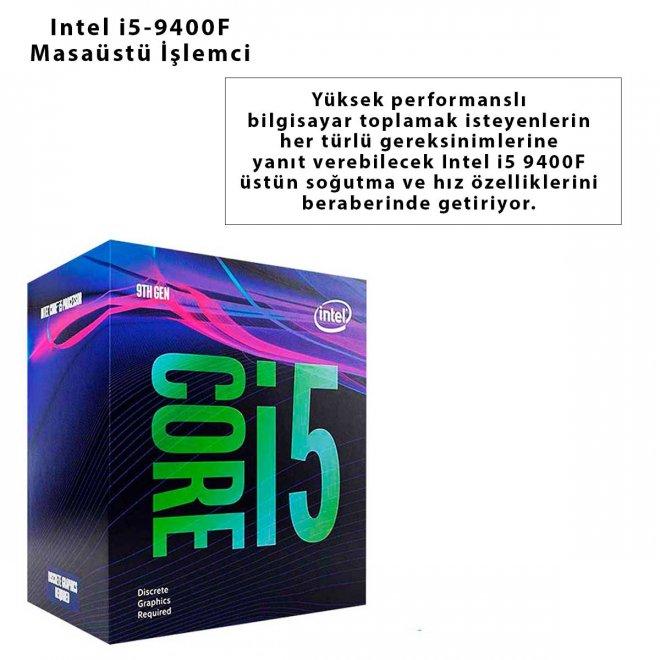 Intel i5-9400F Masaüstü İşlemci