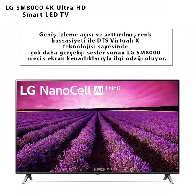 LG SM8000 4K Ultra HD Smart LED TV