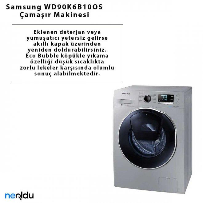 Samsung WD90K6B10OS Çamaşır Makinesi