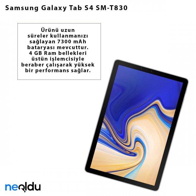 Samsung Galaxy Tab S4 SM-T830