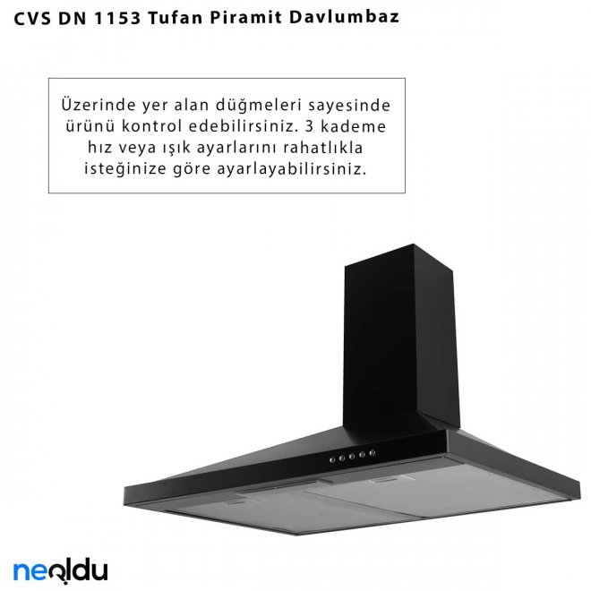 CVS DN 1153 Tufan Davlumbaz