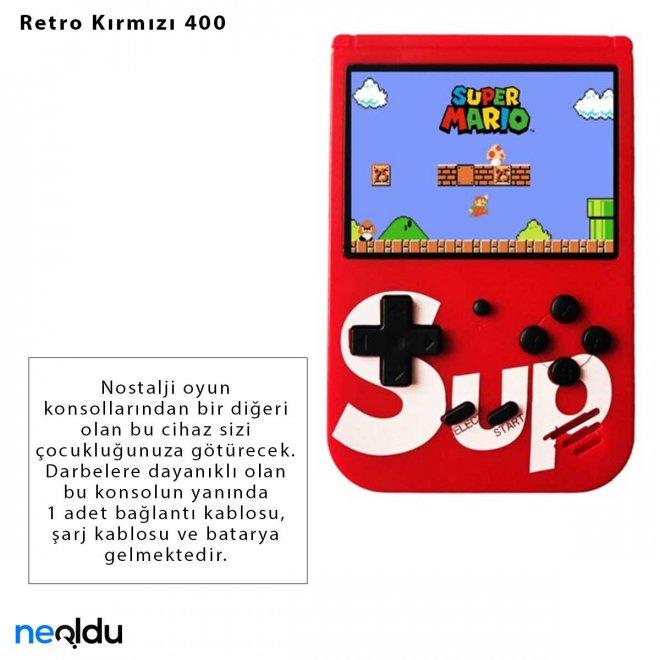 Retro Kırmızı 400