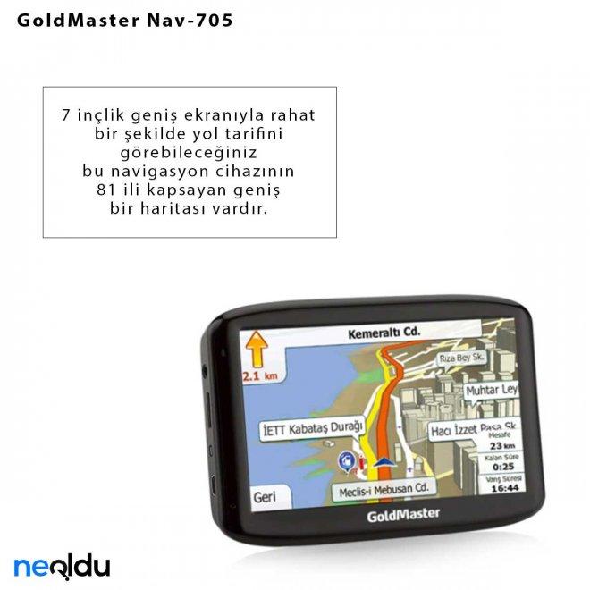 GoldMaster Nav-705