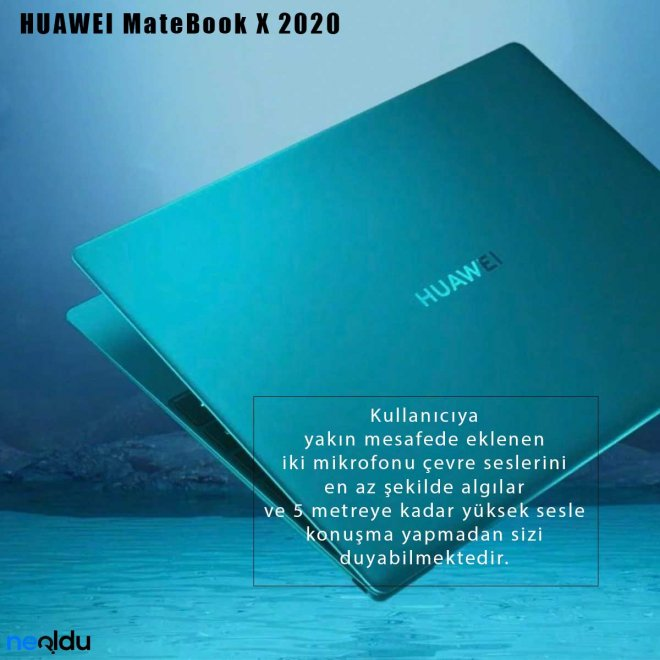 Huawei MateBook X 2020 mikrofon