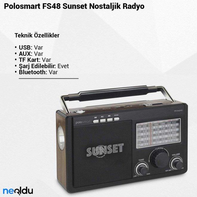 Polosmart FS48 SunsetNostaljik Radyo