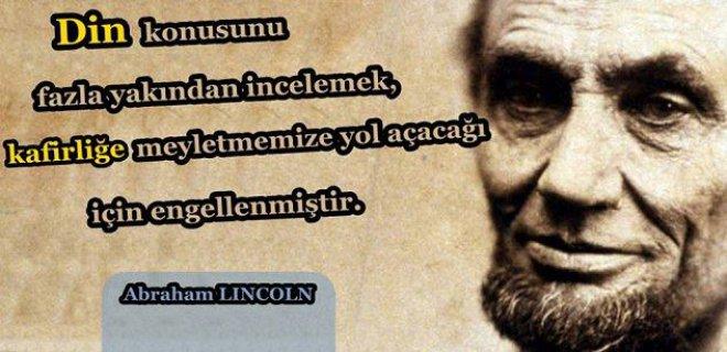 En Güzel Abraham Lincoln Sözleri Abraham Lincoln özlü Sözler