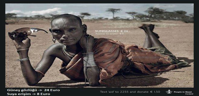 afrikali insanlara yardım
