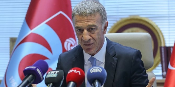 ahmet ağaoğlu Trabzonspor başkanı
