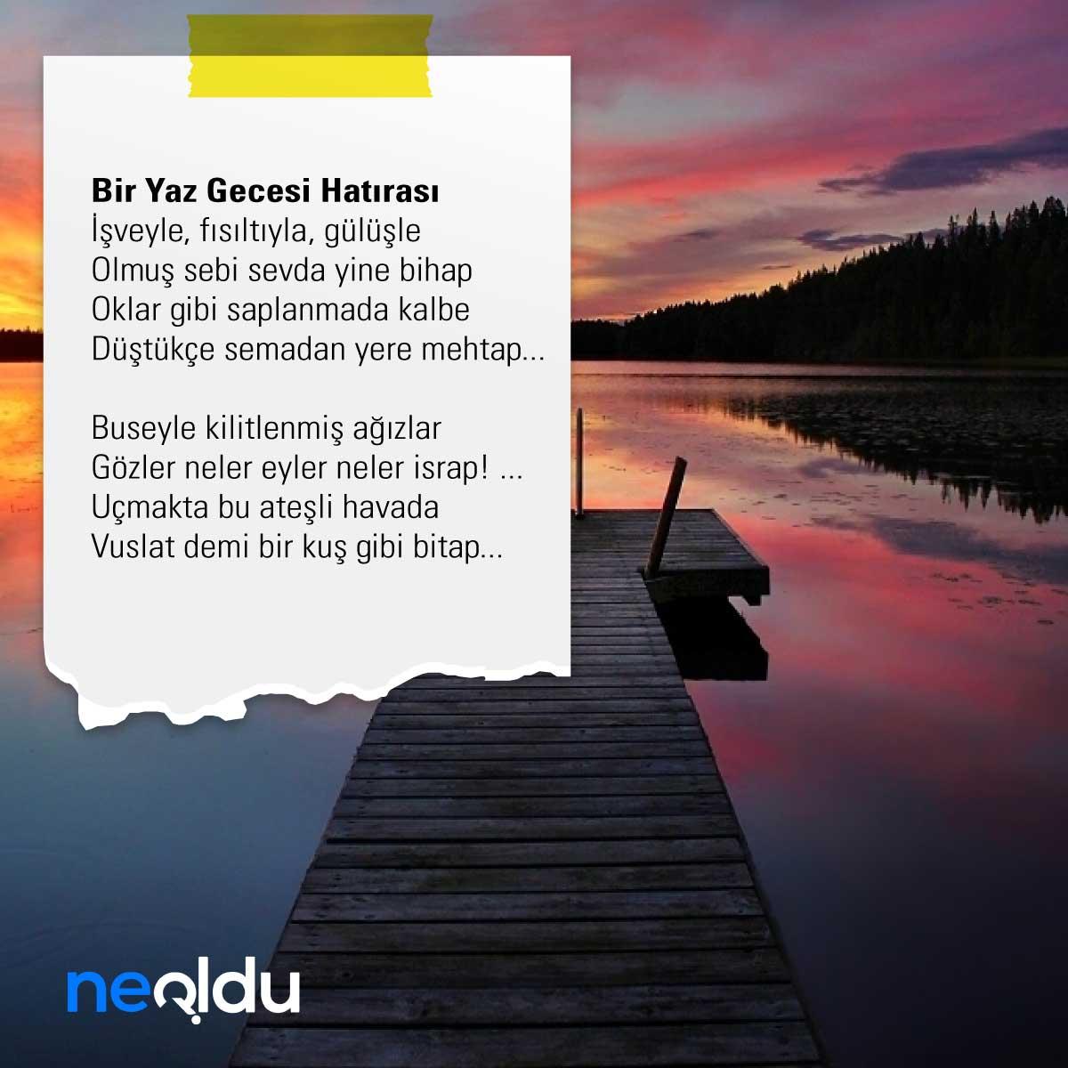 Ahmet Haşim Şiirleri