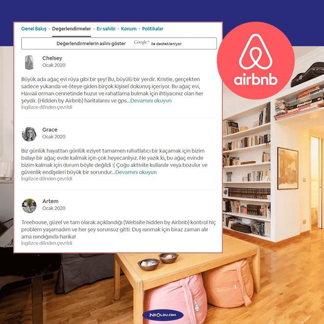 Airbnb Kullanıcı Yorumları