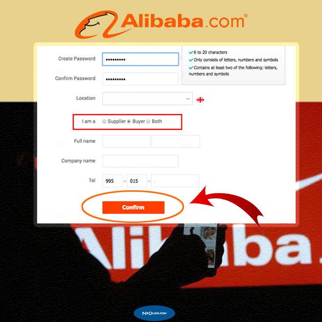 Alibaba Üyelik