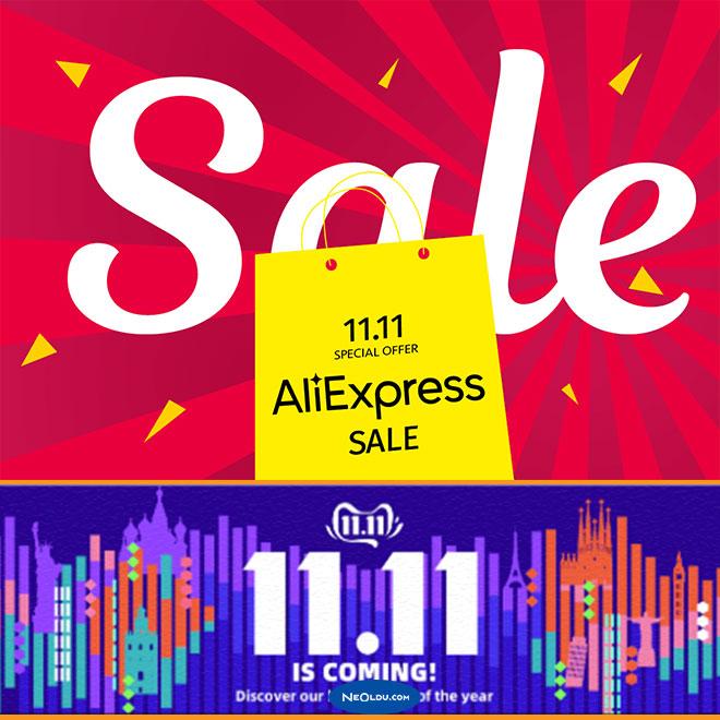 AliExpress 11.11 Kampanyası 2019
