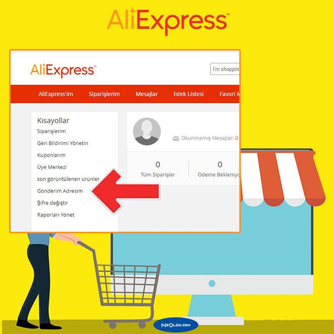AliExpress Adres Nasıl Yazılır