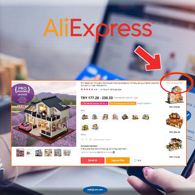 Aliexpress Benzer Ürün Bulma