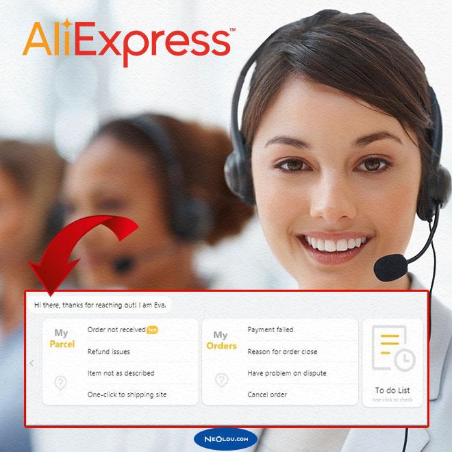 Aliexpress Müşteri Hizmetleri