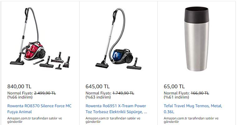 amazon black friday elektronik eşya