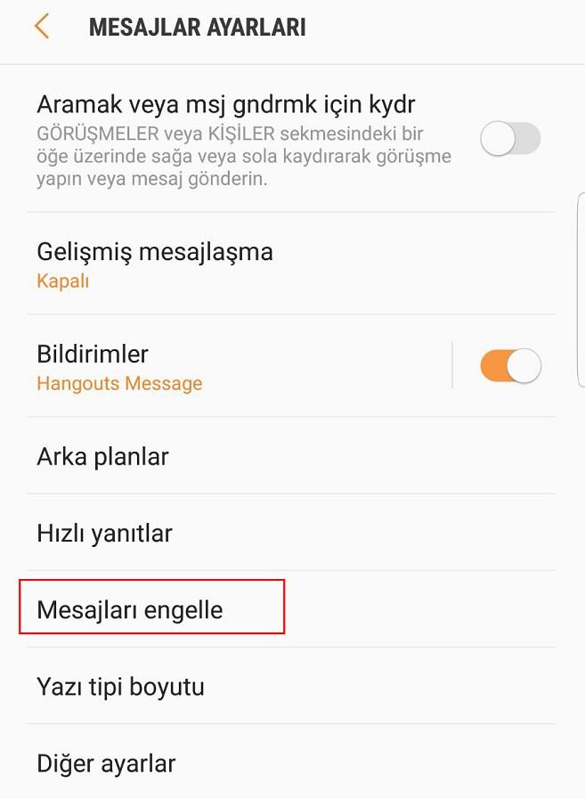 bahis sitesi reklamı engelleme android