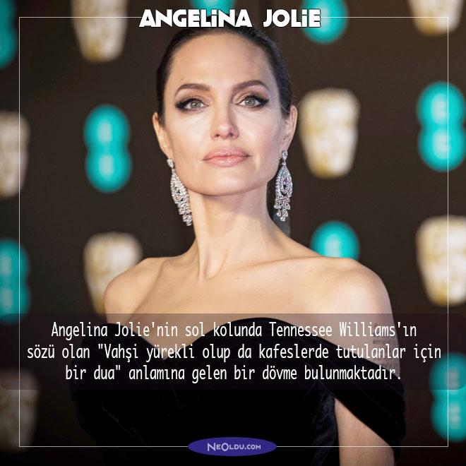 Angelina Jolie Hakkında İlginç Bilgi