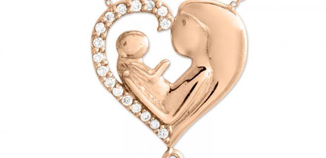 anne çocuk kolyesi