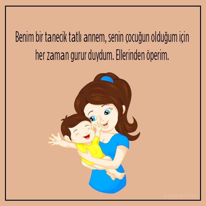 etkileyici anneler günü mesajları