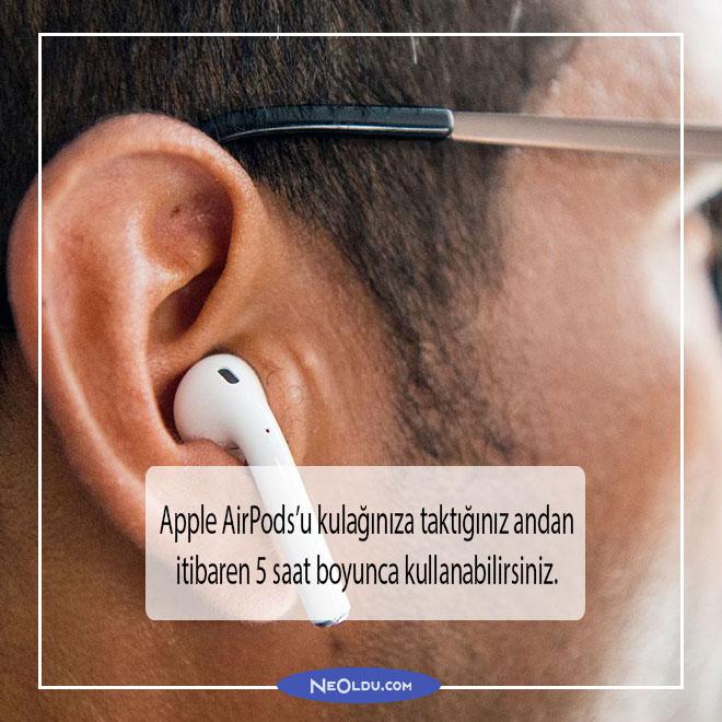 Apple AirPods Bluetooth Kulaklık