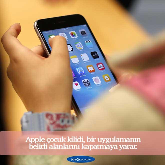 Apple Çocuk Kilidi Nasıl Yapılır Ne İşe Yarar