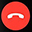 Apple Watch Arama Reddetme Simgesi