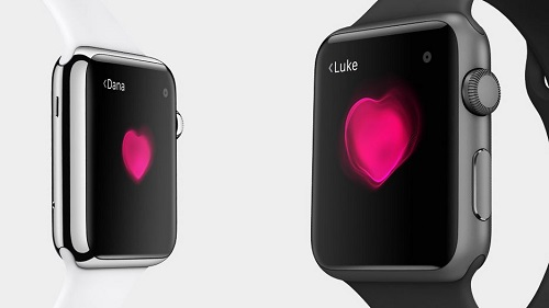 Apple Watch Digital Touch Kalp Ritimleri