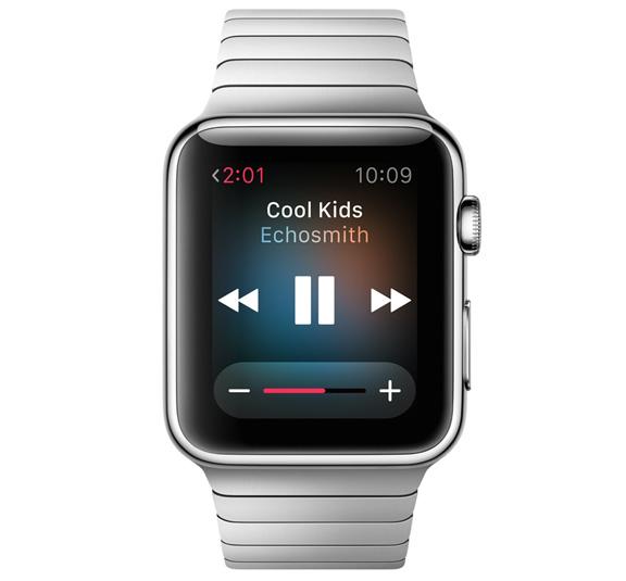 Apple Watch Müzik Oynatıcı