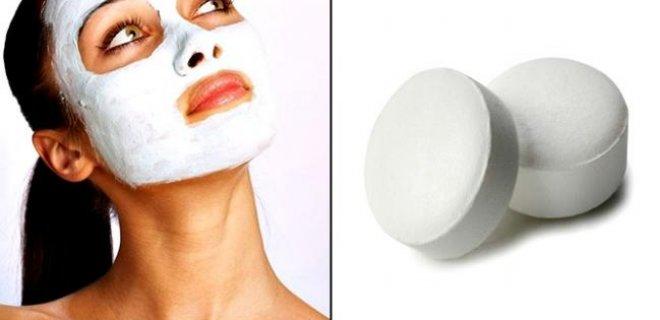 Akne İçin Aspirin Maskesi
