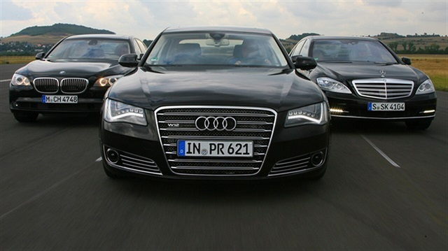 Audi, BMW, Mercedes