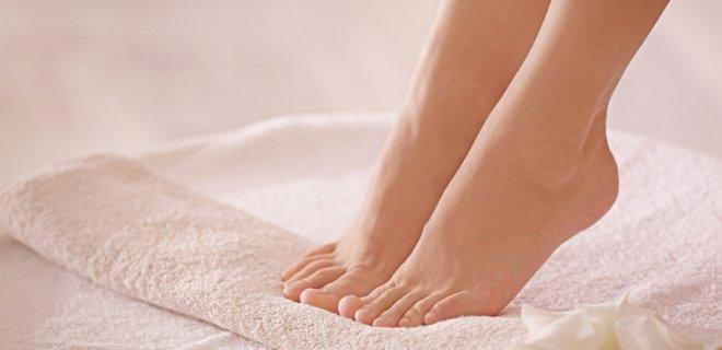 ayaklarınızı kurutun